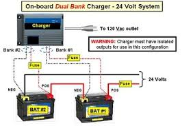 wiring diagram for bank onboard charger wiring changing from 12v to 24v trolling motor general forum mbgforum com on wiring diagram for 2