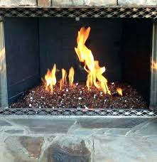 fireplace glass rocks electric with regarding within inspirations 3