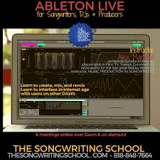 How to remix a song. Learn Ableton Live Guest Pass To Class 1 Thursday 5 28 7pm Pst The Songwriting School Of Los Angeles