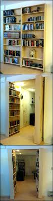 Hidden Bookcase Door Under Stairs Diy Outswing Sims . Hidden Bookshelf Door  Diy Invisidoor Bookcase Hardware Latch. Hidden Bookcase Door Hinges Under  Stairs ...
