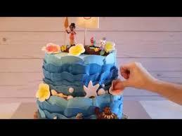 Moana Cake Moana Theme Party Disney Princess Cakes Ideas Diy