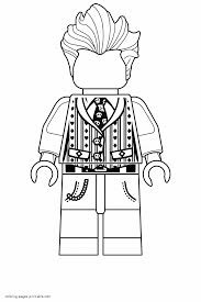 Fantastic Lego Movie Coloring Pages Printable With Lego Batman