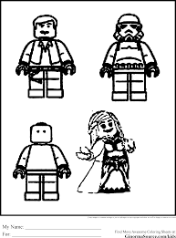 Small Picture Lego Star Wars Coloring Pages Coloring Coloring Pages