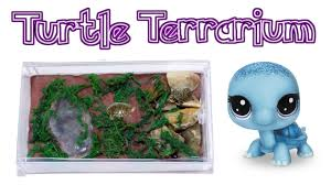 diy miniature turtle terrarium how to make lps crafts doll stuff dollhouse things