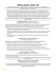 Registered Nurse Resume Examples Awesome Travel Nurse Resume