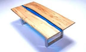 resin table top diy resin wood table resin river coffee table on steel base by resin resin table top diy resin table wood