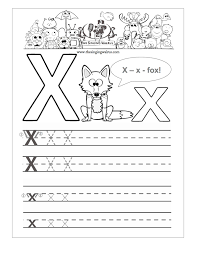 Small Picture Free Handwriting Worksheets for the Alphabet