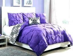 purple twin comforter light ruffle bedding set se