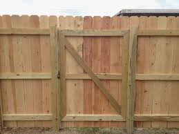 diy fences and gates wood fence with accent lighting design of gate ideas