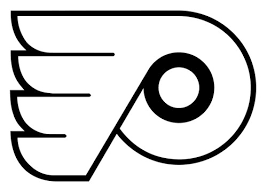 flyers logo outline philadelphia flyers logo die cut vinyl graphic decal sticker nhl hockey