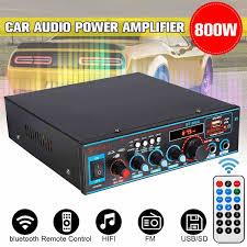 <b>HIFI 2CH 800W</b> Audio Power Amplifier 12/220V Car Home Theater ...