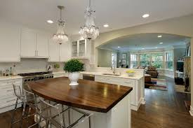 half wall kitchen kitchen traditional with beige tile backsplash beige cabinets open floor plan