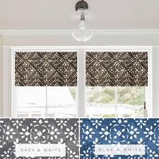 faux roman valance. Fine Valance Custom Made Faux Roman Shade Valance In Avila Sable Grey U0026 White Or Blue  For