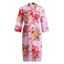 Baby Night Dress Design Us 8 39 44 Off Lonsant Maternity Dress Women Cotton Flower Printing Dress Women Maternity Nursing Gown Breastfeeding Casual Night Dress In Dresses