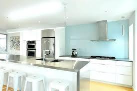 blue glass backsplash kitchen blue glass kitchen blue glass kitchen contemporary with stainless farm sink faux
