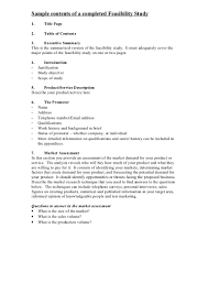 Sample Feasibility Report Samplecontentsofacompletedfeasibilitystudy224phpapp224thumbnail24jpgcb=24 6