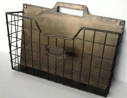 neoteric metal wall file holder organizer stunning in conjunction with john for tiered vintage style pocket