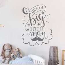 dream big little man wal inspirational dream big little one wall sticker on dream big little one wall art with dream big little man wal inspirational dream big little one wall