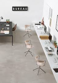 floor office. monday workspace french by design office desk concrete floors communal space floor
