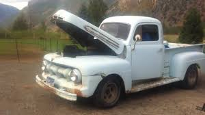 1951 Mercury M1 Custom Cab Pickup Original Flathead V8 Truck. - YouTube