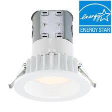 easy lighting. EnviroLite Easy Up 4 In. White Integrated LED Recessed Kit Lighting V