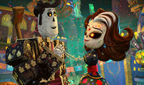 skeleton manolo and skeleton lady fox the book of life