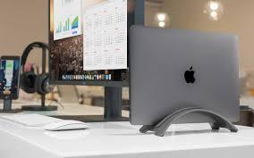 Port Designs Laptop Stand Bookarc Desk Setup Workspace Desk Workspace Design