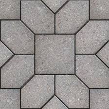 sidewalk texture seamless. Simple Texture Gray Pavement In The Form Of Hexagons As Petals Laid Around Square Seamless  Tileable Inside Sidewalk Texture M