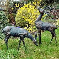 deer garden ornaments small
