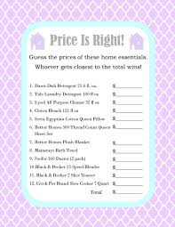 House Warming Party Price is Right Game by SimplyInspireDesigns