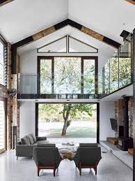 Industrial Glasshouse Residence With An Open Layout