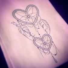 Heart Dream Catcher Tattoo 100 best Dream Catcher Tat Ideas images on Pinterest Dream 33