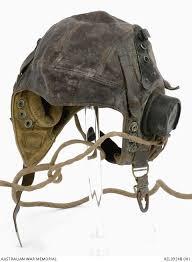 british type c flying helmet flying officer g g richard raaf