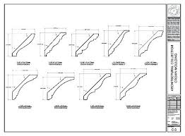 Crown Molding Size Chart Crown Moulding Dimensions Molding