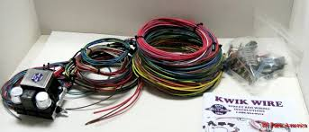 kwikwire 14 circuit universal vehicle wiring kit ih parts america scout ii wire harness at Scout Ii Wiring Harness