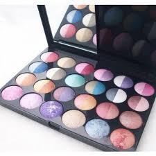 lakme valvet look in a box 24 colour eye shadow stan hit m a c beauty professional makeup kit