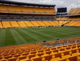 Pittsburgh Steelers Virtual Seating Chart Heinz Field Section 108 Seat Views Seatgeek