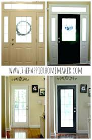 painting interior doors black bring a custom look into your home with this tutorial for painting interior doors black