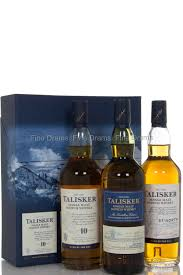 talisker gift pack 3 x 20 cl