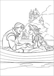 Small Picture Tangled Coloring Pages Coloring Pages Online
