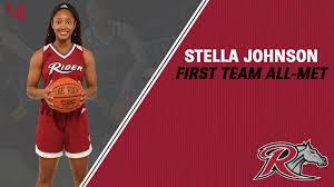 Stella Johnson Named First Team All-MET - Rider University Athletics