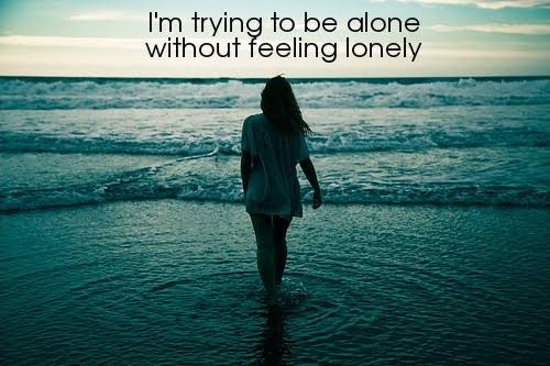 lonely girl quotes