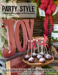 Party <b>Style</b> Magazine <b>2015</b> Holiday Gift Guide by GemmStone INC ...