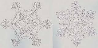 Crochet Snowflake Pattern Chart Crochet Snowflakes Diagram Wiring Diagram