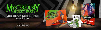 Halloween Business Cards Overnightprints Spooky Party Savings