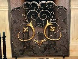 old fireplace screens vintage fireplace screen old fireplace screen fireplace screens for amazing wrought iron old fireplace screens