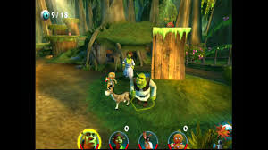 Shrek 2 ... (PS2) - YouTube