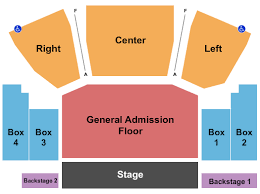 House Of Blues Seating Chart Cleveland