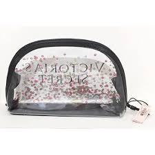 victoria s secret clear confetti makeup cosmetic bag