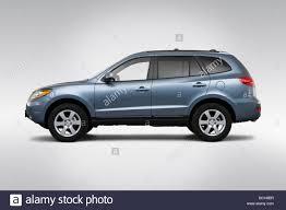 2009 Hyundai Santa Fe SE in Blue - Drivers Side Profile Stock ...